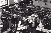 Library in the Young Auditorium - 1970's